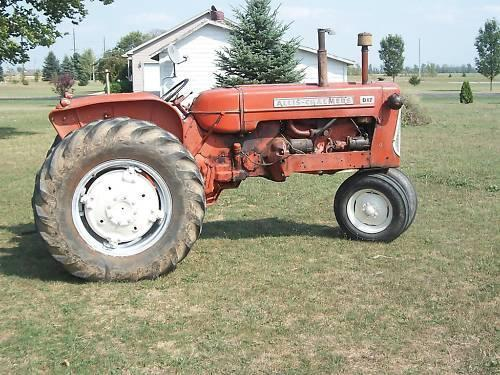 Old Allis-Chalmers Tractor Pictures