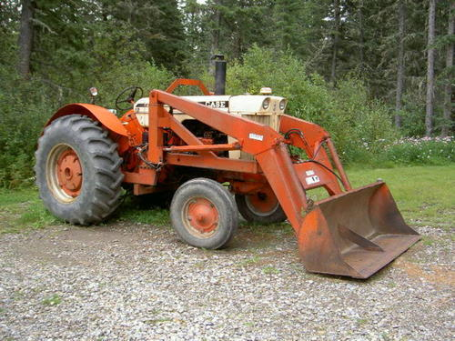 Case 530 Farm Tractor : Old case tractor pictures