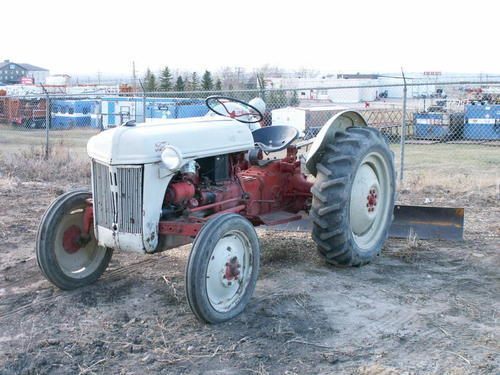 1958 Ford 8n Tractor : Old ford tractors