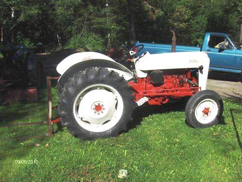 Ford 3500 Tractor. 1954 Ford Tractor For Sale
