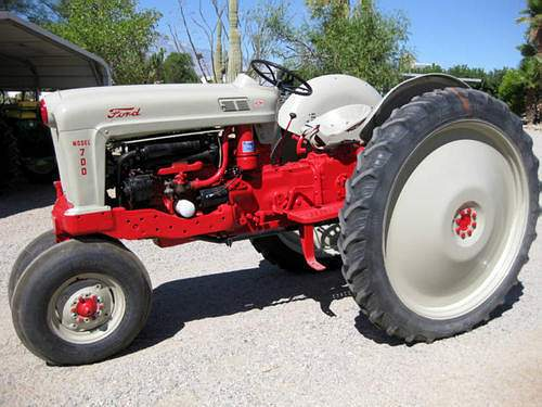 1956 Ford Tractor : Old ford tractors