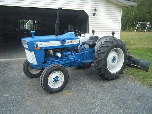 1965 ford 3 cylinder gas tractor
