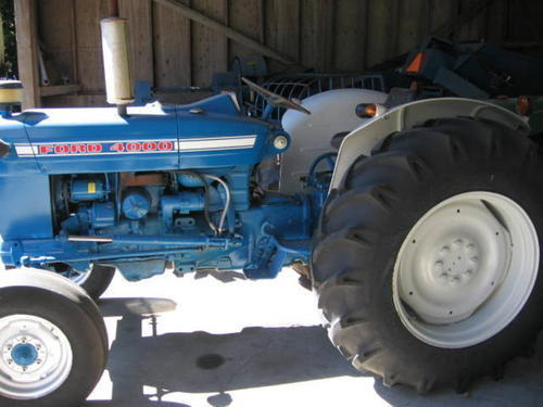 Ford 4000 Diesel Tractor : Ford tractor horse power