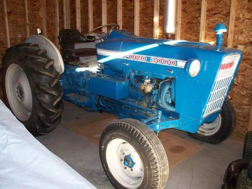 1971 ford county tractor