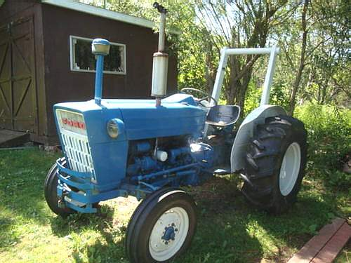 1973 Ford Tractor 5000 Parts : Ford tractor to models